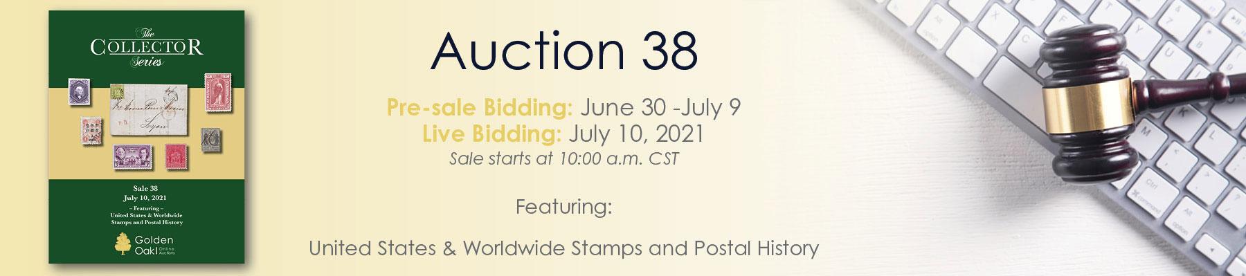 Sale 38  Announce