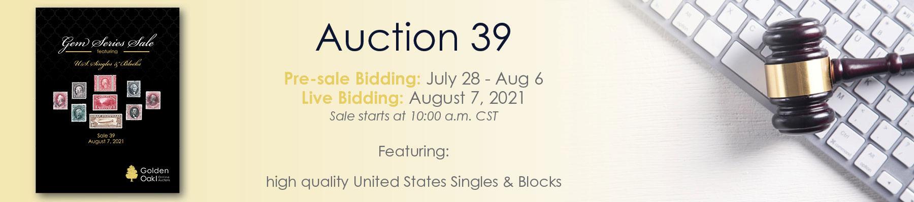 Sale 39  Announce